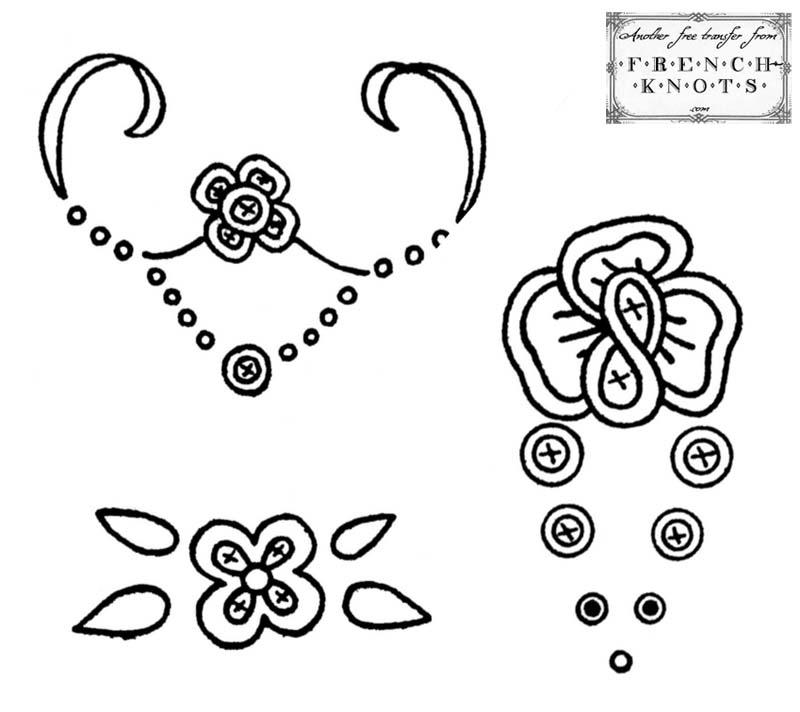 motifs embroidery patterns