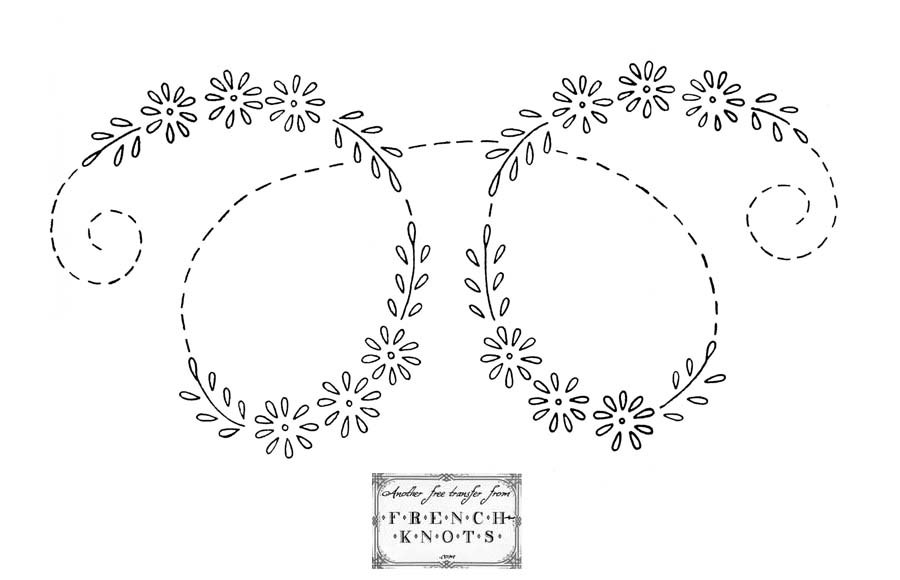 daisy loop embroidery