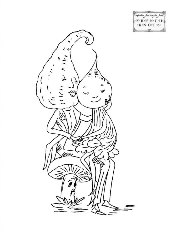 squash beet and mushroom