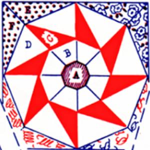 carnival pinwheel quilting pattern