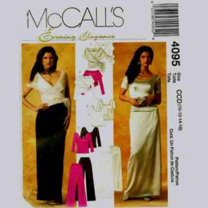 McC alls 4095 sewing pattern