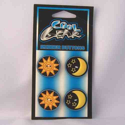 sun and moon buttons