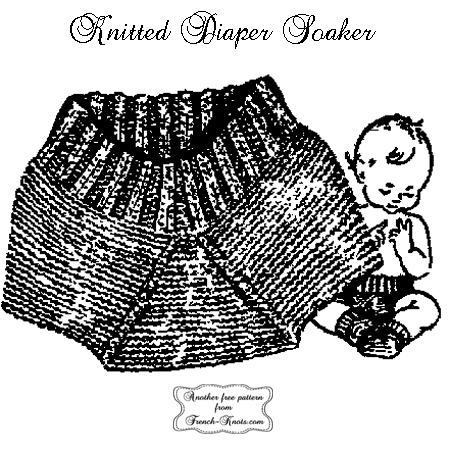 diaper soaker knitting pattern