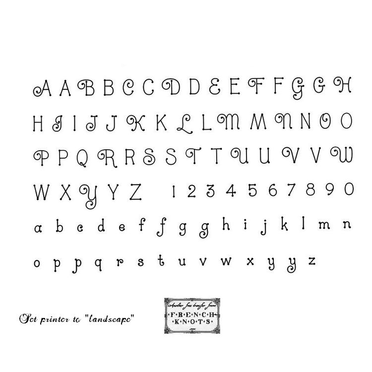 alphabet embroidery patterns