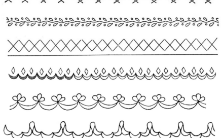 narrow edgings embroidery patterns