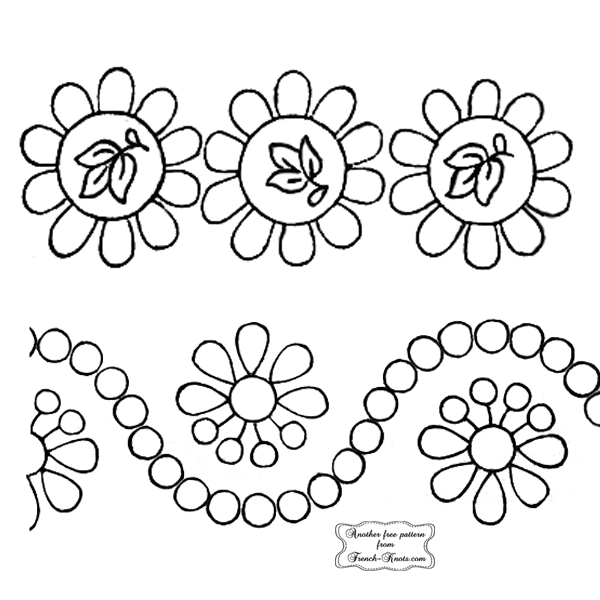 wide edging embroidery patterns