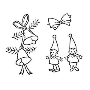 elves and bells embroidery patterns
