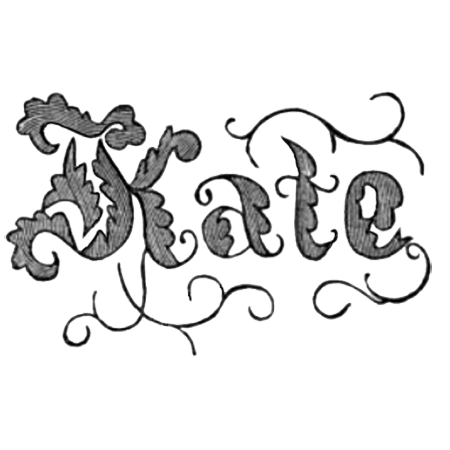 kate embroidery pattern