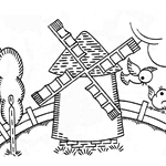 scenes embroidery patterns