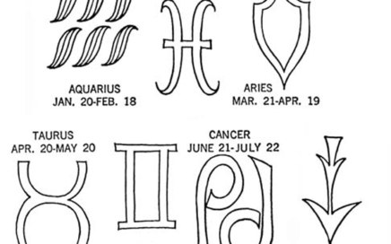 astrology symbols embroidery patterns