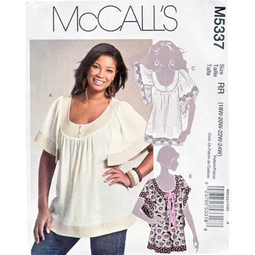 McCalls 5337 sewing pattern