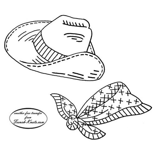 cowboy hat and kerchief