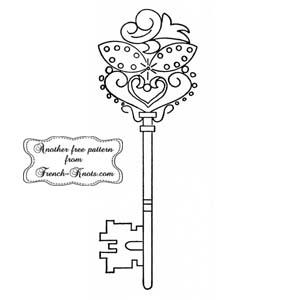 fancy skeleton key