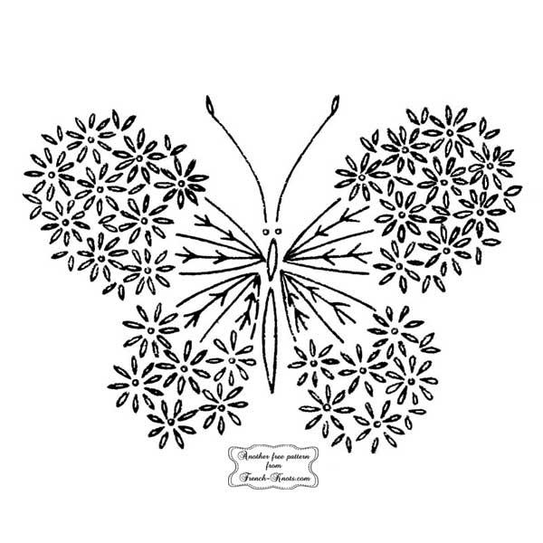 butterfly daisy wings