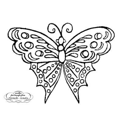 antique butterfly