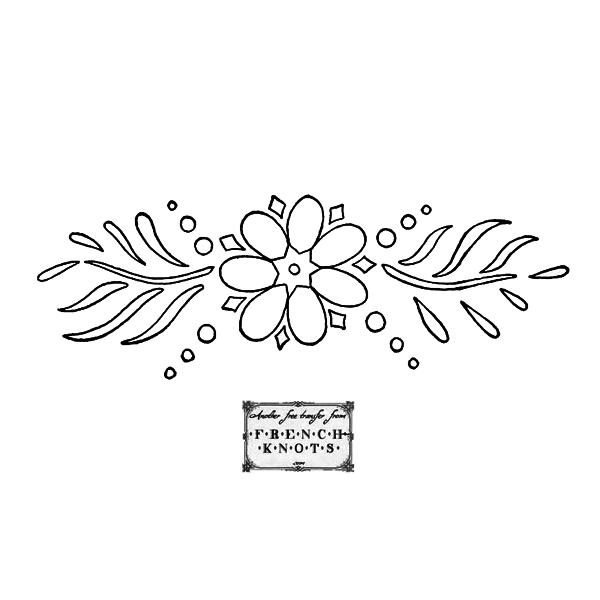 dutch flower motif