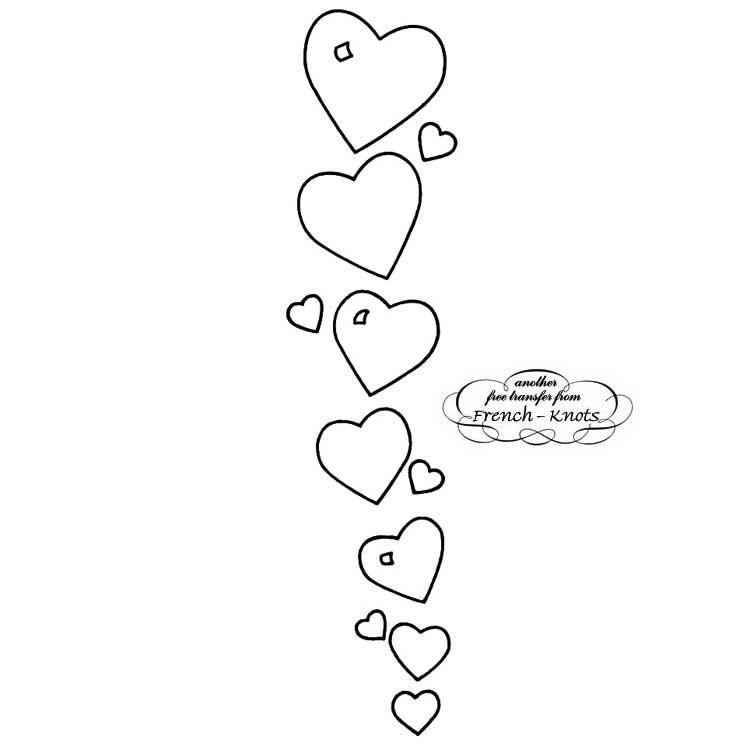 trailing hearts