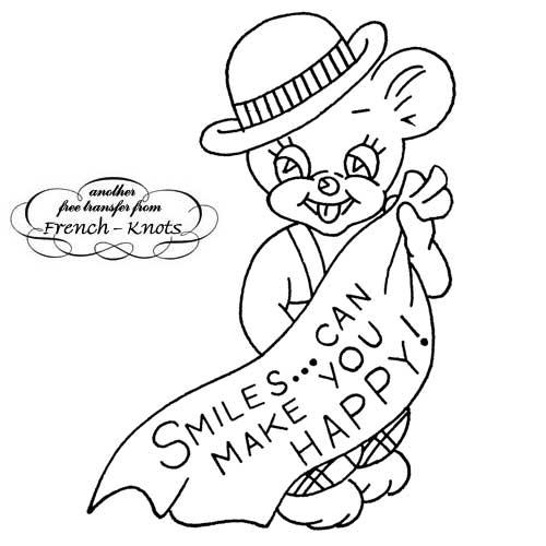 smiley bear