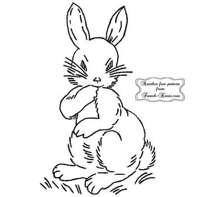 worried bunny rabbit