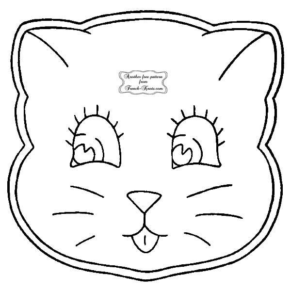 kitten potholder